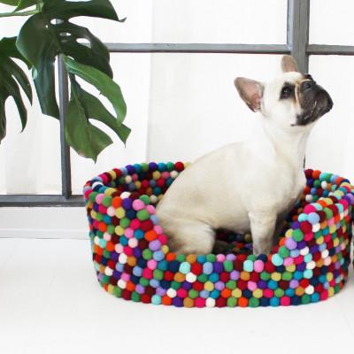 Haustierkorb | Mehrfarbig