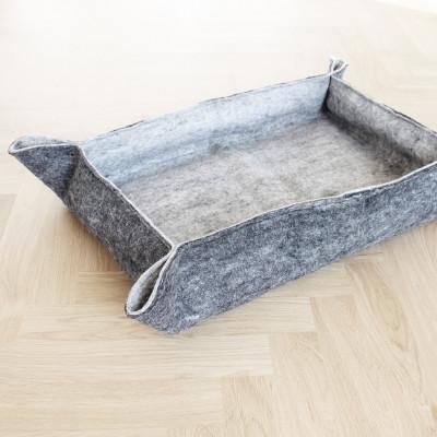 Haustierbett | Holzkohlengrau