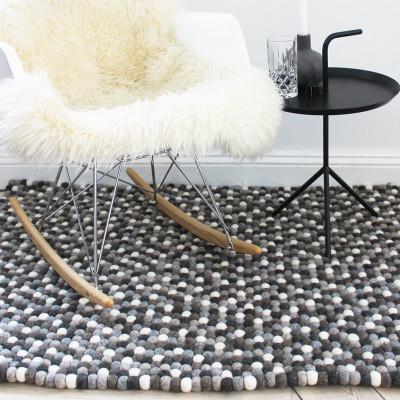 Rechteckiger Teppich | Naturwolle