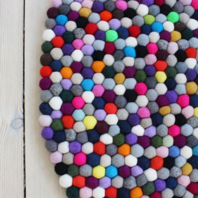 Runder Teppich | Multi Pang