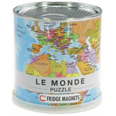 Magnetic Puzzle   Le Monde