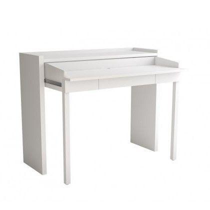 Schreibtischkonsole 16 MEL | Weiß