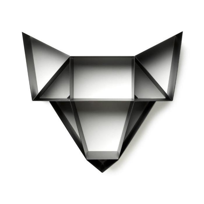 Shelf Wolf   Charcoal Black