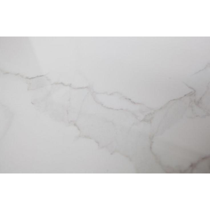 Marble Side Table Ø 60 cm Vida | White