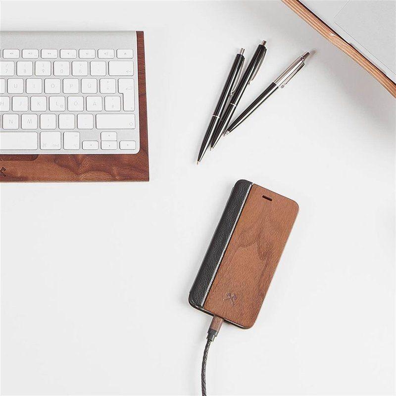 Wooden iPhone Flipcover | Walnut
