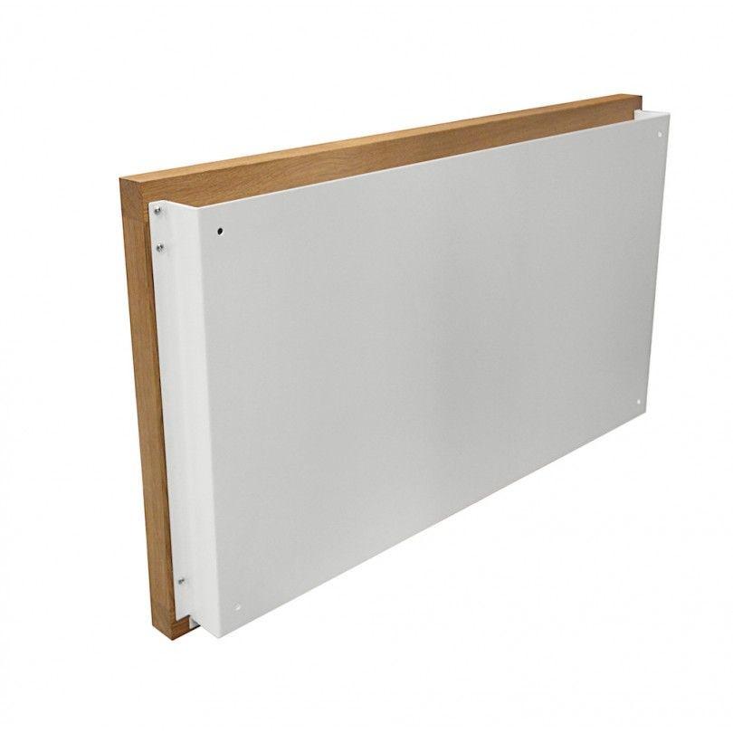Wandschreibtisch Banti   Eiche/Weiß