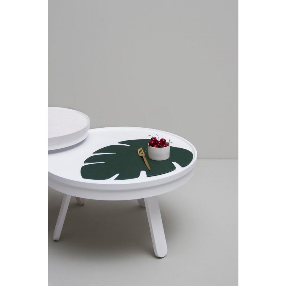 Coffee Table with Storage Space Batea Medium | White