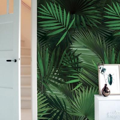 Wallpaper Botanical | Palm Leaves
