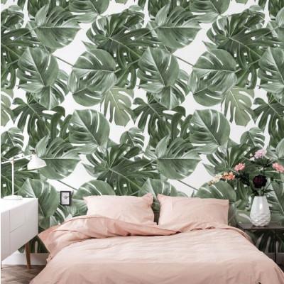 Wallpaper Monstera White