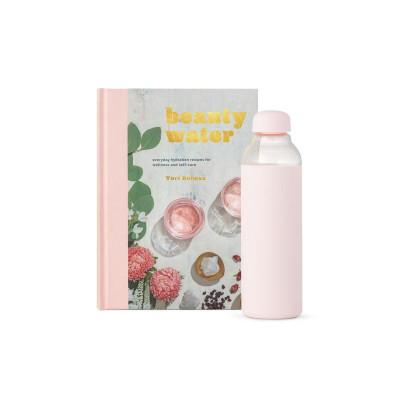 Das Schönheitswasserset | Buch + Portierflasche
