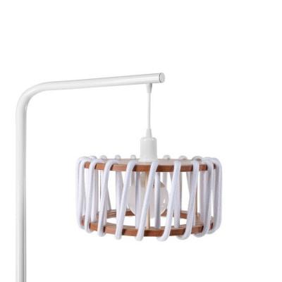 Stehleuchte Macaron 30 cm | Weiß / Weiß