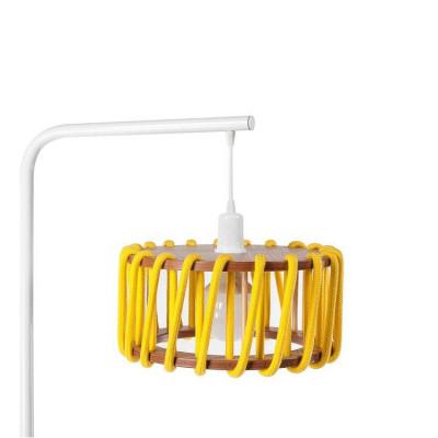 Stehleuchte Macaron 30 cm | Weiß / Gelb