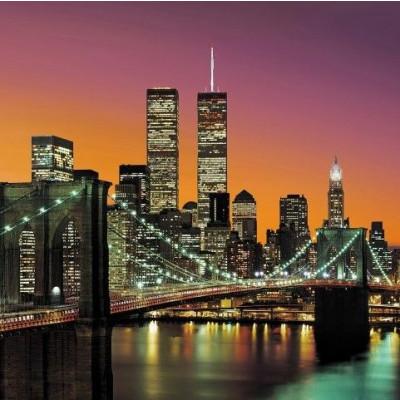 Wall Sticker (366 x 254 cm 8 Sheets)   New York Skyline