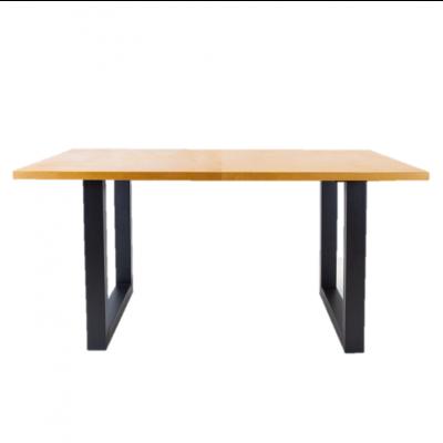 Breazz Leder Tisch U-Rahmen | Cognac - 160x80cm