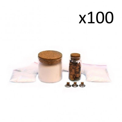 Nachfüllung für Kerzen   100er-Pack