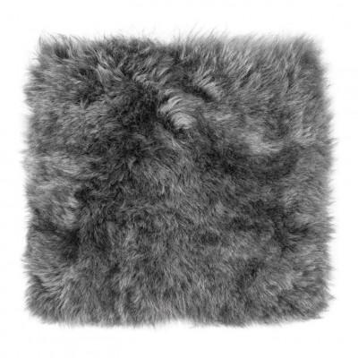 Chair Pad Icelandic Lambskin   Grey Brisa Short Hair
