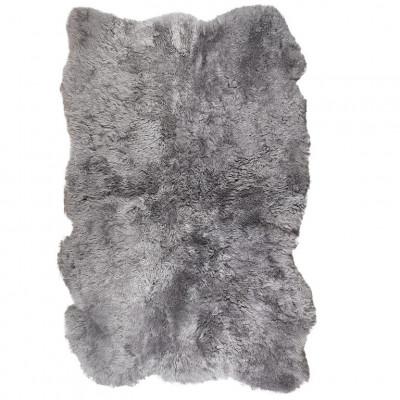 Icelandic Lambskin 170 x 110 cm   Grey Brisa