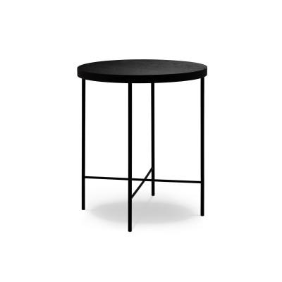 Couchtisch Orsay 43x43x50 cm| Eiche Schwarz Furnier