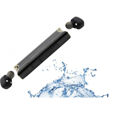 xS2 Waterproof & Wireless Earbuds   Black