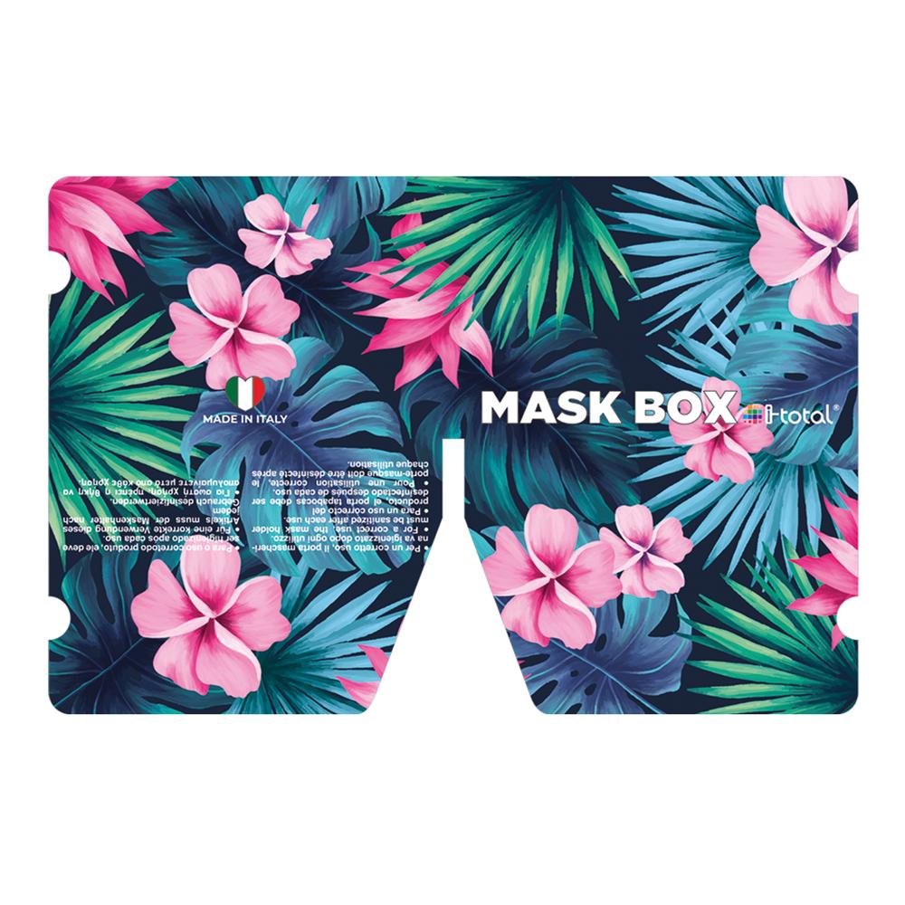 Gesichtsmasken-Box   Tropical