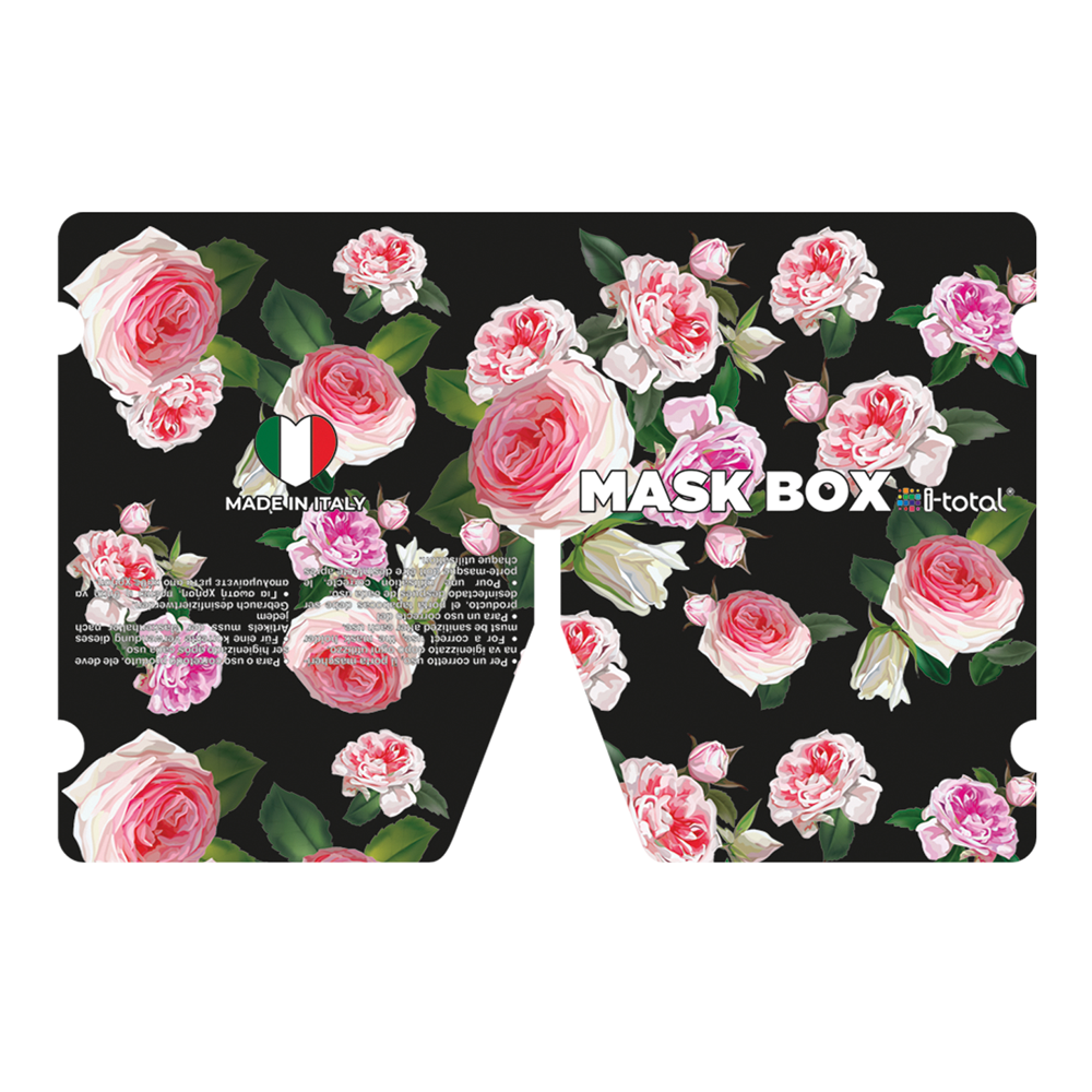 Gesichtsmasken-Box | Rosen