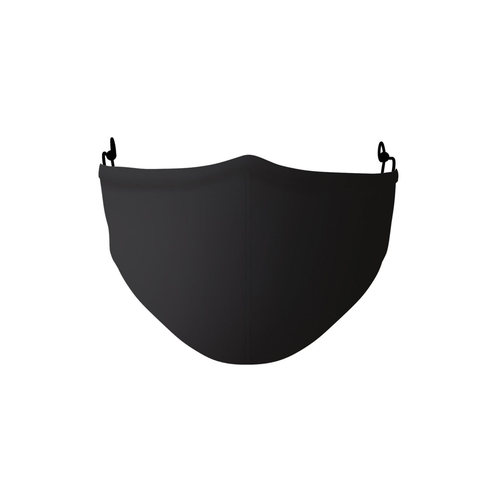 Gesichtsmaske | Polyester | Schwarz