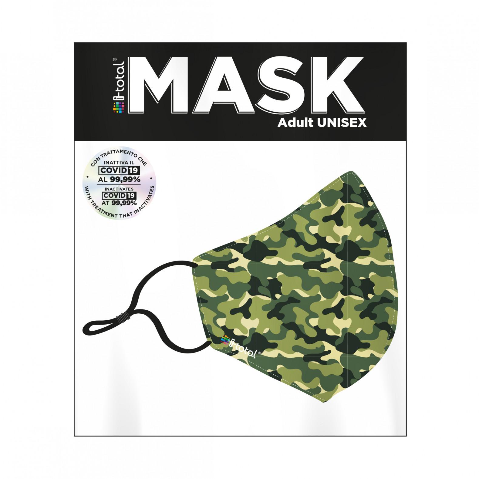 Gesichtsmaske   Polyester   Camouflage