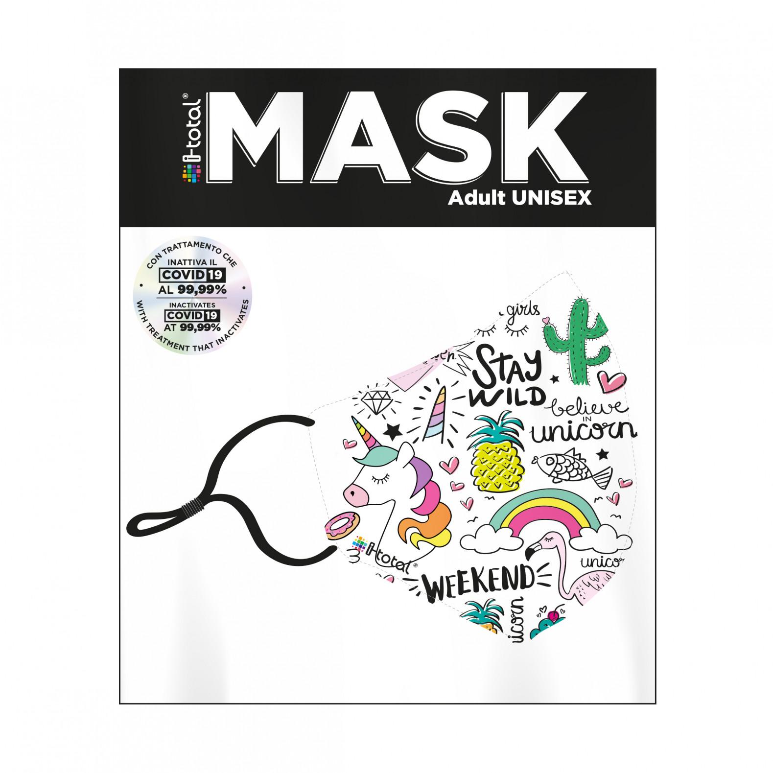 Gesichtsmaske   Polyester   Einhorn