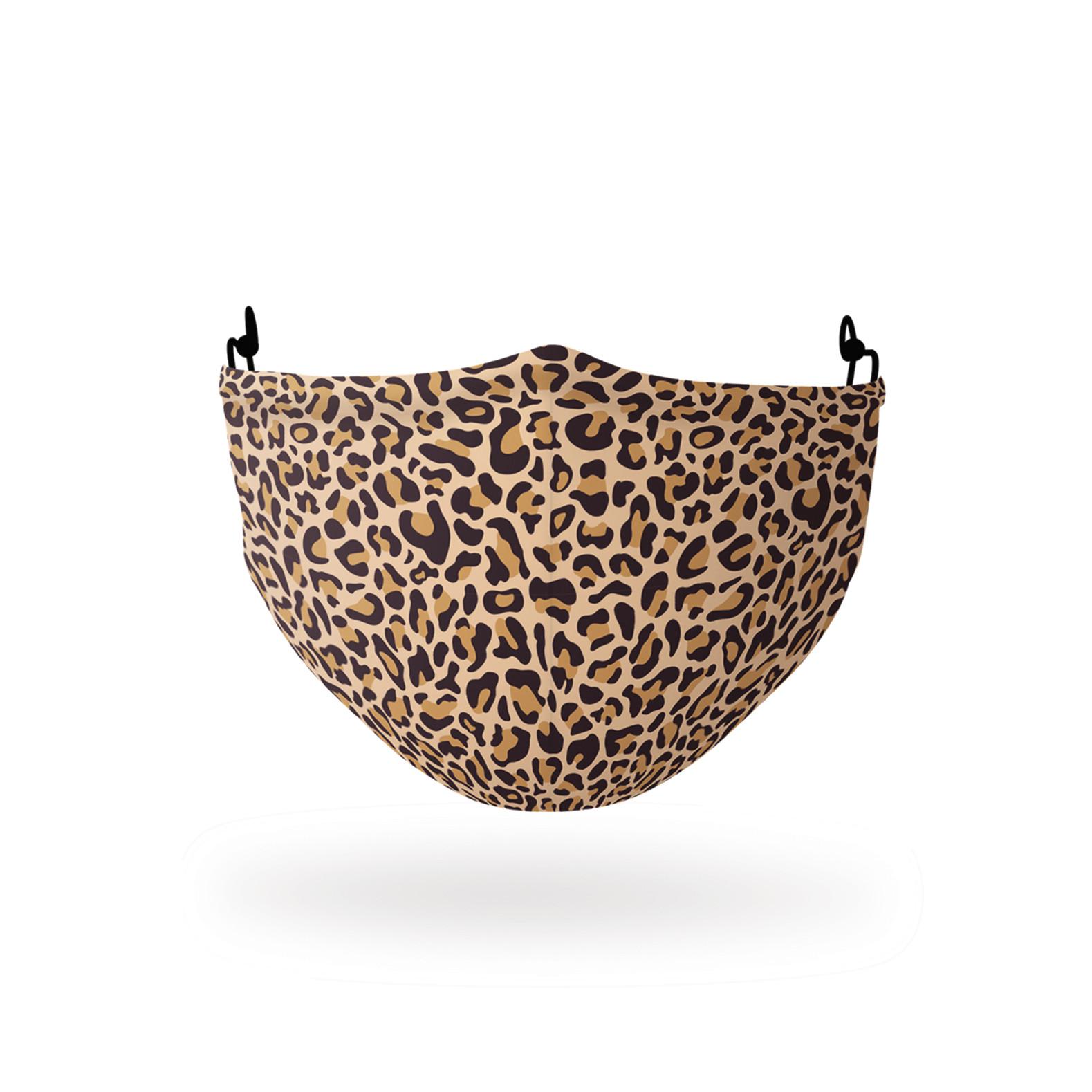 Gesichtsmaske | Polyester | Leopard