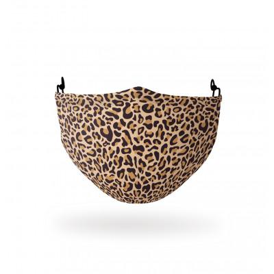 Gesichtsmaske   Polyester   Leopard