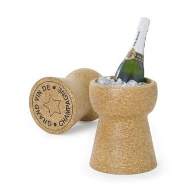 Flaschenkühler Riesen Champagnerkorken
