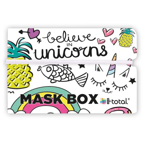 Gesichtsmasken-Box | Einhorn