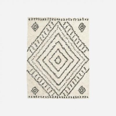 Teppich Nubia | Weiß