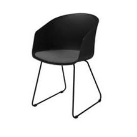 MOON 40 Chair w/black PP+SPY