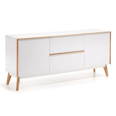 Sideboard Menal 160 x 72   Weiß