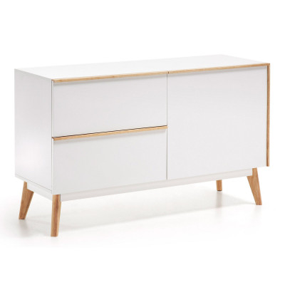 Sideboard Menal 120 x 72   Weiß