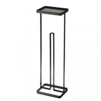 Toilettenpapierhalter Offener Turm | Schwarz
