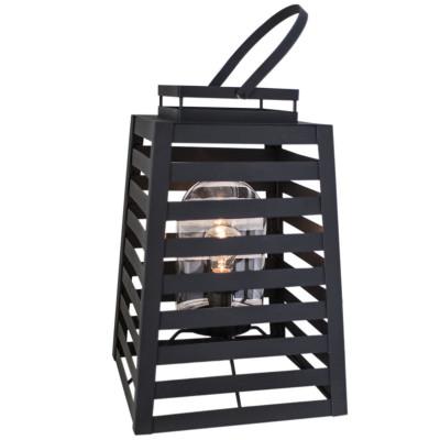 Stehlampe Yankton | Schwarz