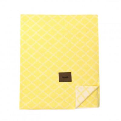 Merinowool Blanket | Yellow - White