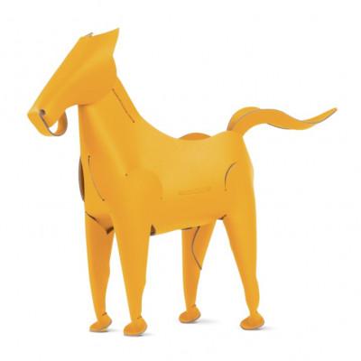 Schreibtischorganisator Pferd | Gelb