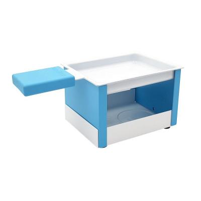 Raclette-Set mit Teelicht | Blau