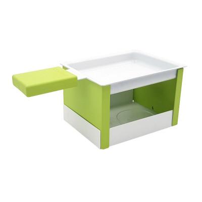 Raclette-Set mit Teelicht | Grün