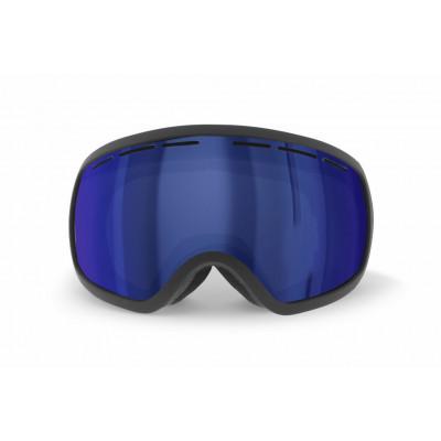 Schneebrille Teide   Schwarzer Rahmen / Blaue Revo Linsen