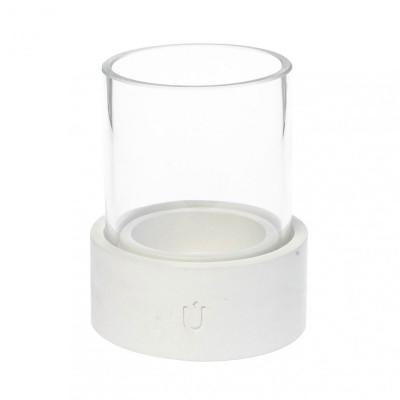 Bela Mini Candle Tealight Holder   White