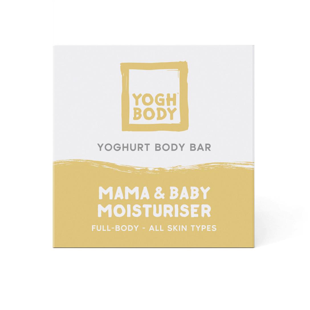 Joghurt-Body Bar Feuchtigkeitspflege | Mama/Baby Ringelblume | Gelb