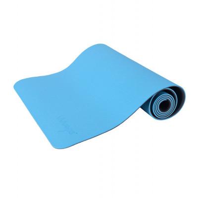 Yogamatte Anti-Rutsch | See Blau & Cool Gray