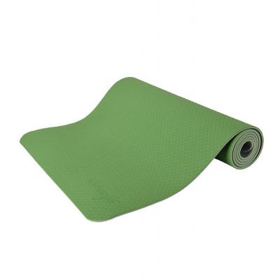 Yogamatte Anti-Rutsch | Gras Grün & Hellgrau