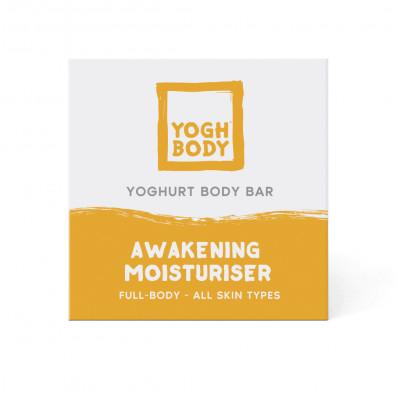 Joghurt-Body Bar Aufweckende Feuchtigkeitspflege | Zitrone/Eukalyptus | Gelb