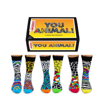 Socks You Animal   6er-Set