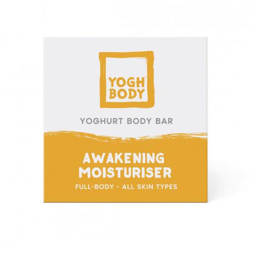 Joghurt-Body Bar Aufweckende Feuchtigkeitspflege   Zitrone/Eukalyptus   Gelb